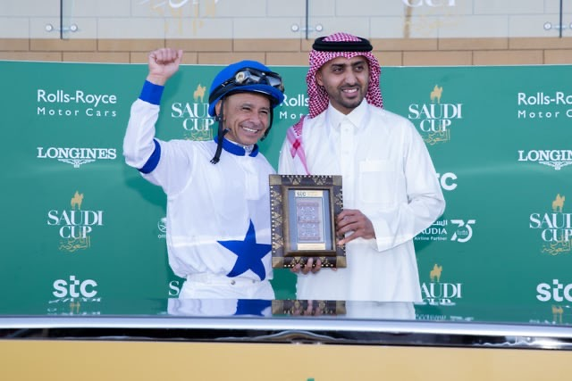 Jockey Challenge winner - Credit Neville Hopwood Jockey Club of Saudi Arabia