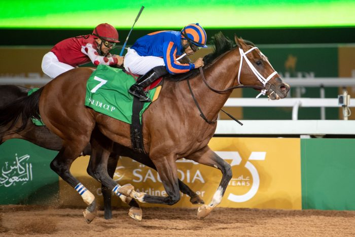 Maximum Security - Jockey Club of Saudi Arabia - Doug DeFelice