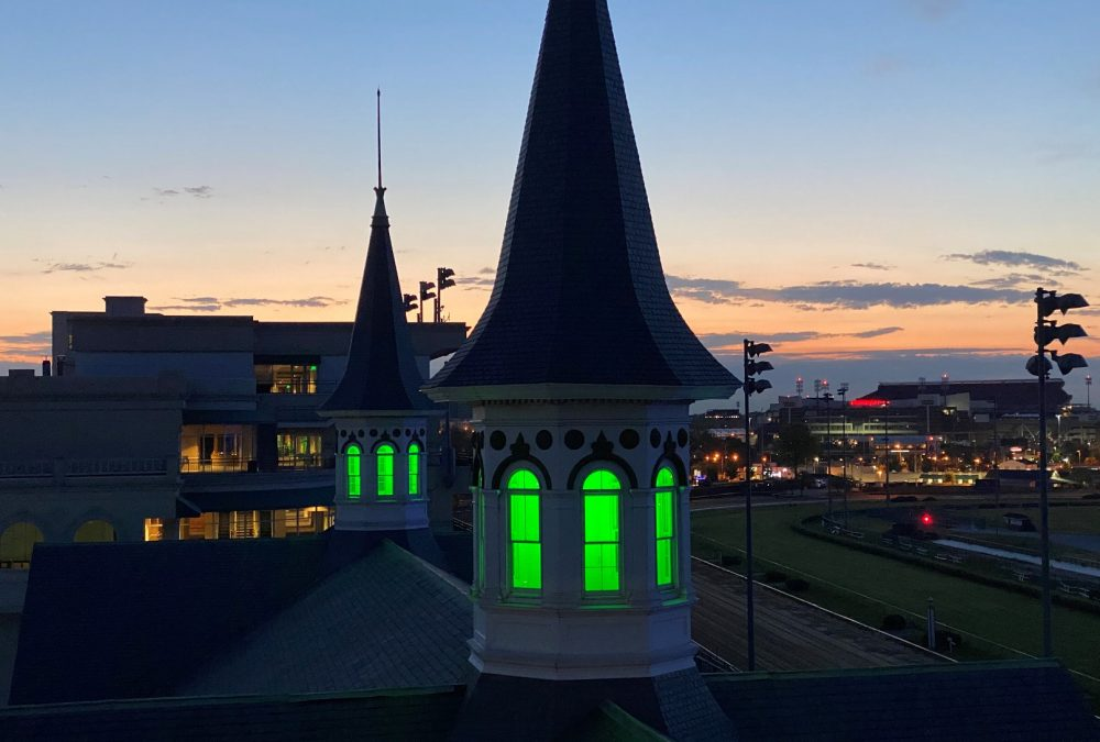 PHOTO - Twin Spires - Green (2020)