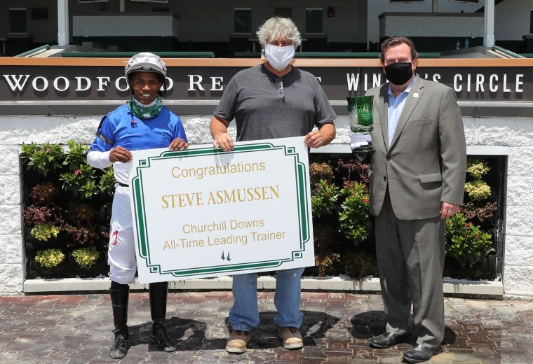 Steve Asmussen - CD All-Time Leading Trainer - Coady Photo