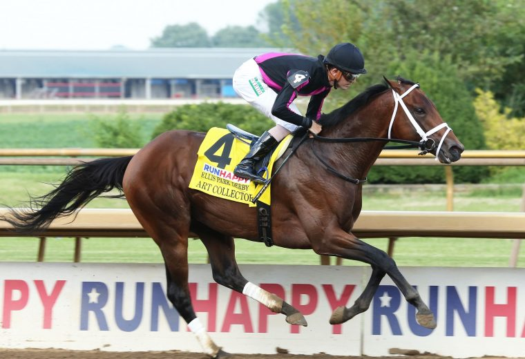 ART COLLECTOR - RunHappy Ellis Park Derby - 3rd Running - Coady Photo