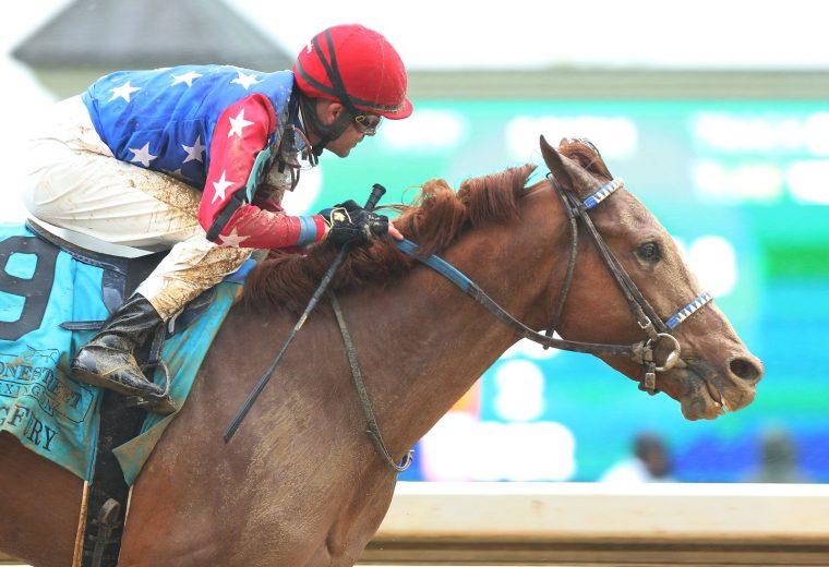 KING FURY - Stonestreet Lexington Stakes G3 - Coady Photo